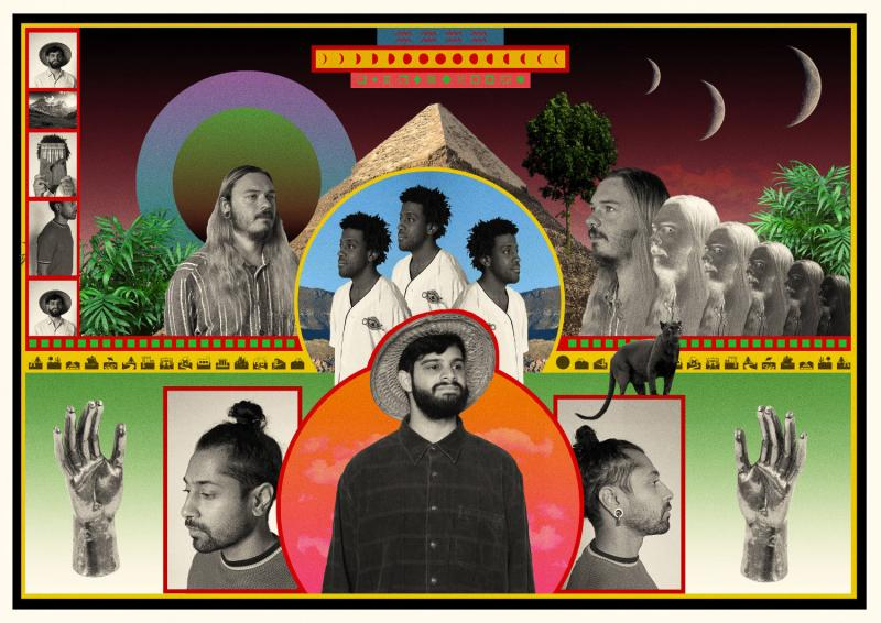 Flamingods band artwork