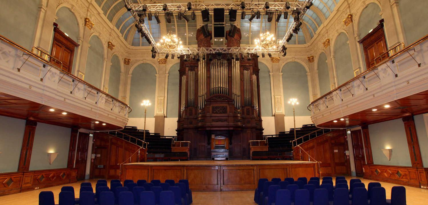 Concert Hall Reading Town Hall