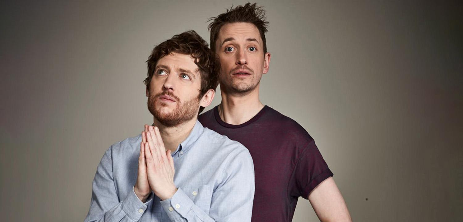 Elis James and John Robins The Holy Vible Concert Hall Reading