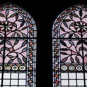 Alfred Waterhouse Stained Glass Windows